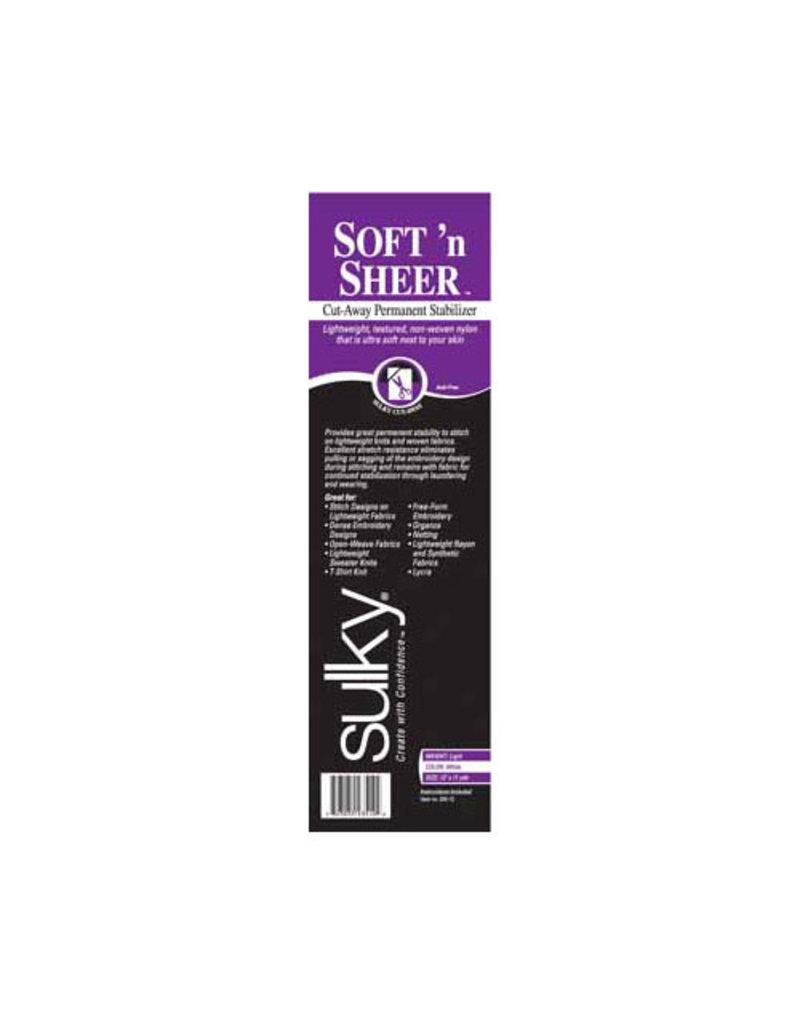 """Sulky Stabilizer Soft & Sheer - 12"""" x 11 yd Roll"""