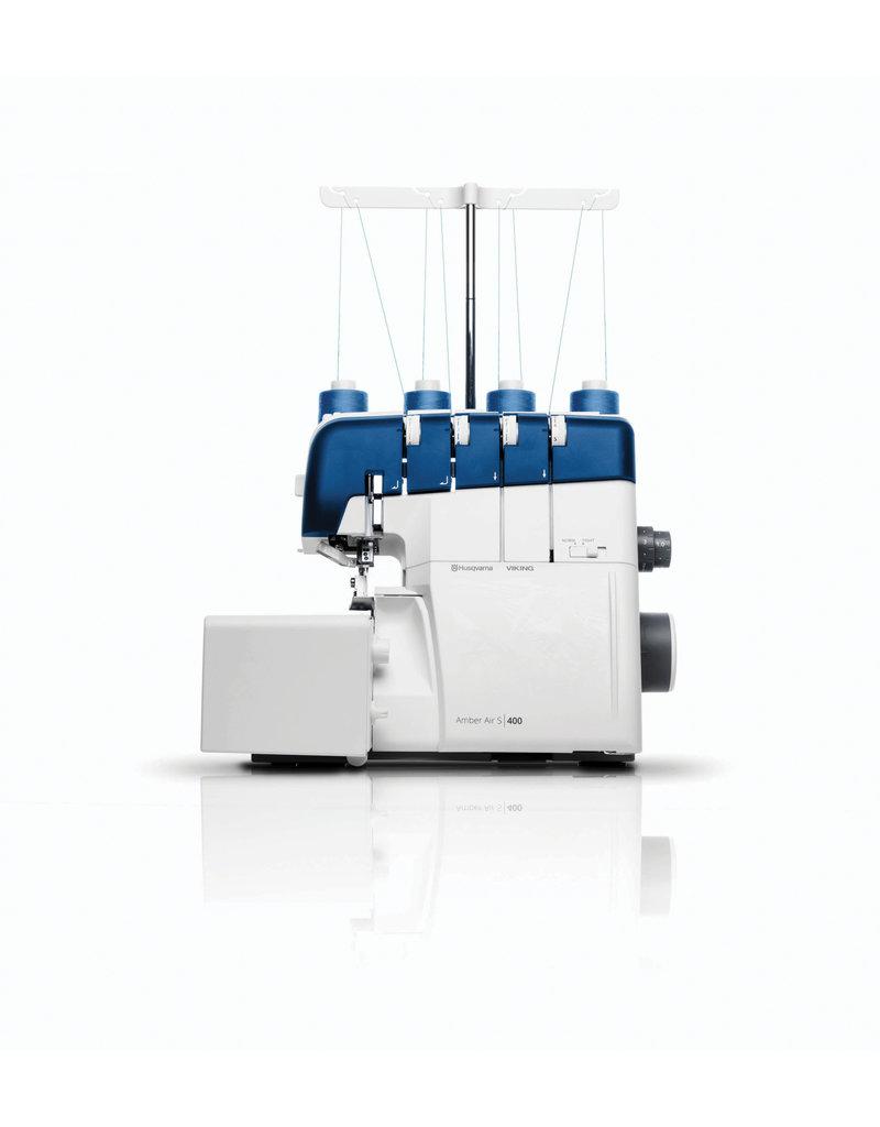Husqvarna Husqvarna surjeteuse Amber Air 4/3/2 thread stitching