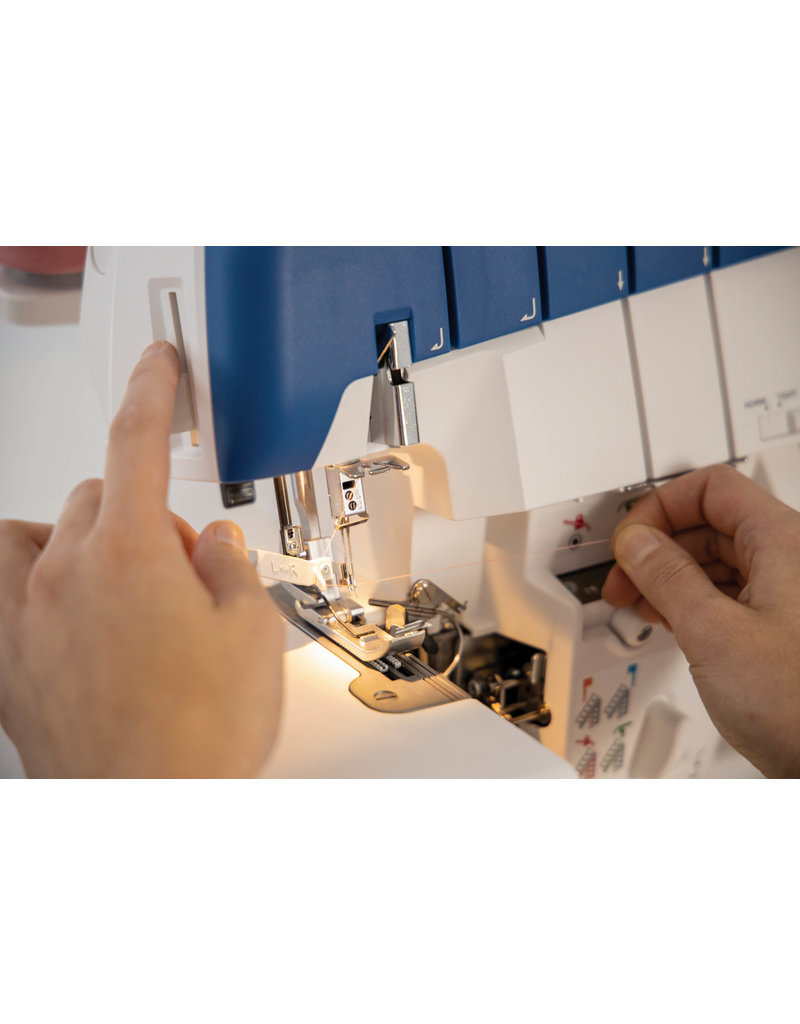 Husqvarna Viking Husqvarna surjeteuse Amber Air 4/3/2 thread stitching