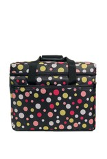 Bluefig multi-coloured polka-dot carrier