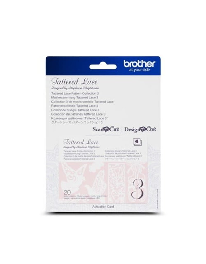 Brother Collection 3 Motifs Dentelle Tattered Lace