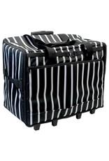 Vivace Vivace black stripes transport case