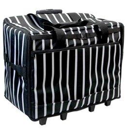 Vivace Valise de transport Vivace rayures noir