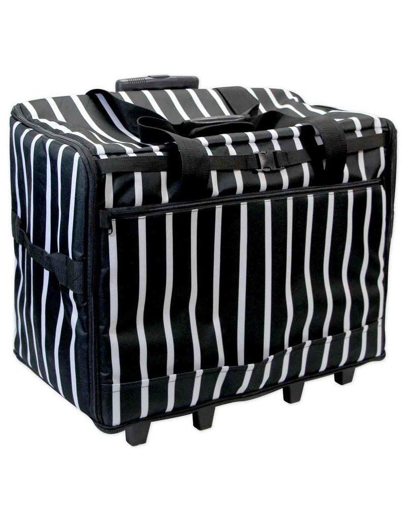 Vivace black stripes transport case