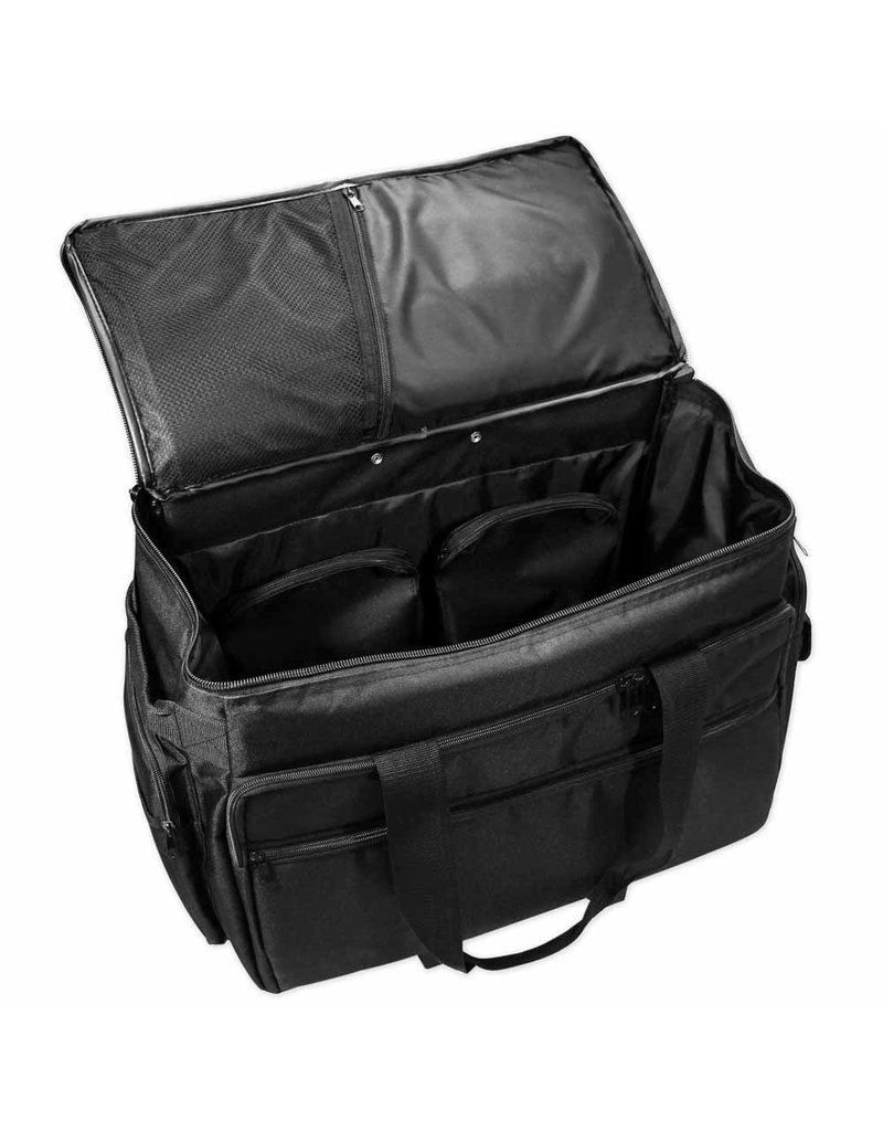 Vivace sewing machine tote - black