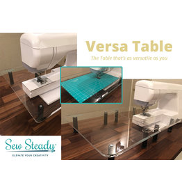 Sew Steady Table de rallonge pliante en acrylique Sew Steady
