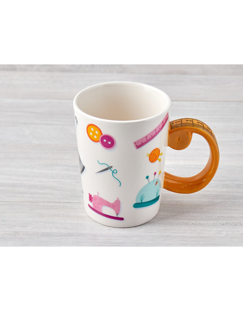 Measuring tape Mug