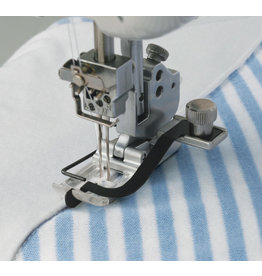 Janome Center Guide Foot 3 needles Janome Elna coverstitch