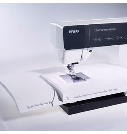 Pfaff Extension table Pfaff with adjustable guide (J)