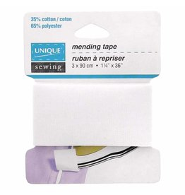 Unique UNIQUE SEWING Mending Tape White - 3.2cm x 0.9m (11⁄4 ″ x 36″)