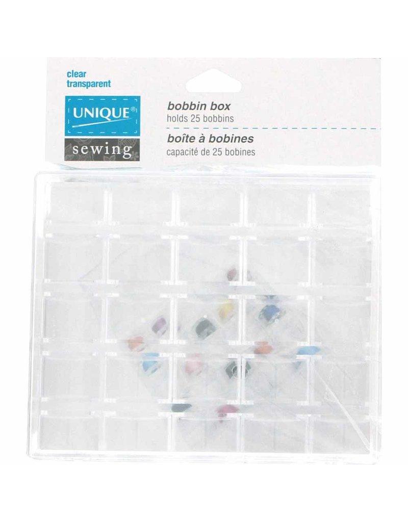 Unique UNIQUE SEWING Bobbin Box - holds 25 Bobbins