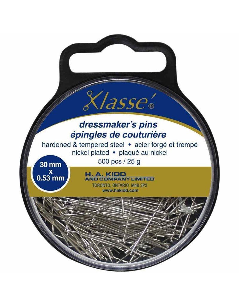 Klassé Dresmaker's headless pins
