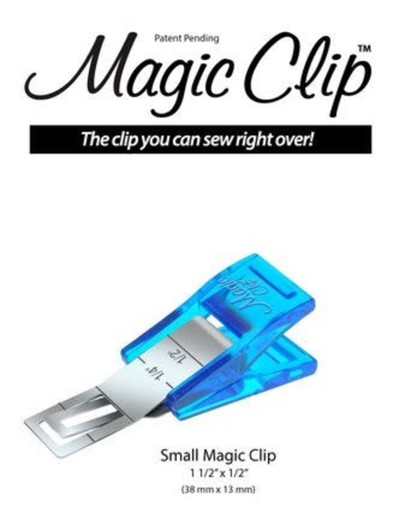 Magic Clip Small 12 pieces per card