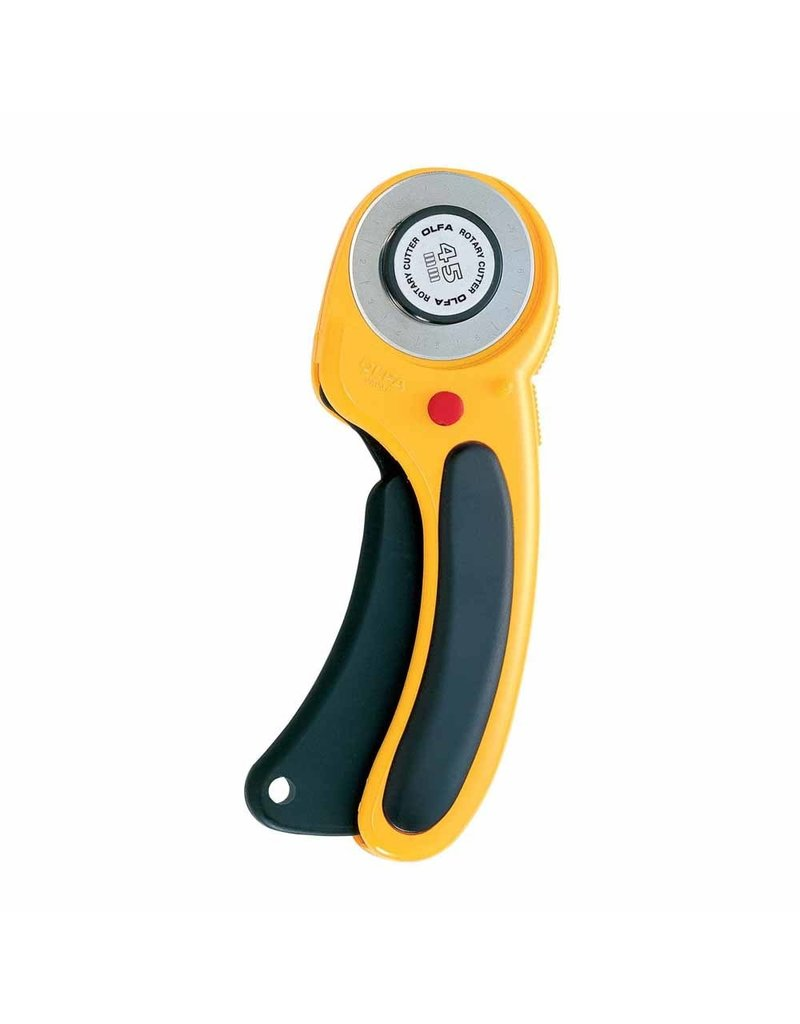 olfa Deluxe Ergonomic Handle Rotary Cutter 45mm