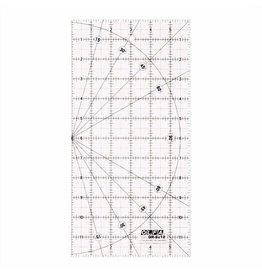 olfa 6″ x 12″ Frosted Acrylic Ruler