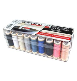 Guterman GÜTERMANN 26 pc Sew-All 100m - Thread Set in Acrylic Box - Assorted Colours