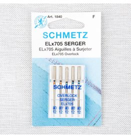 Schmetz Schmetz needles serger Elx705 80/12
