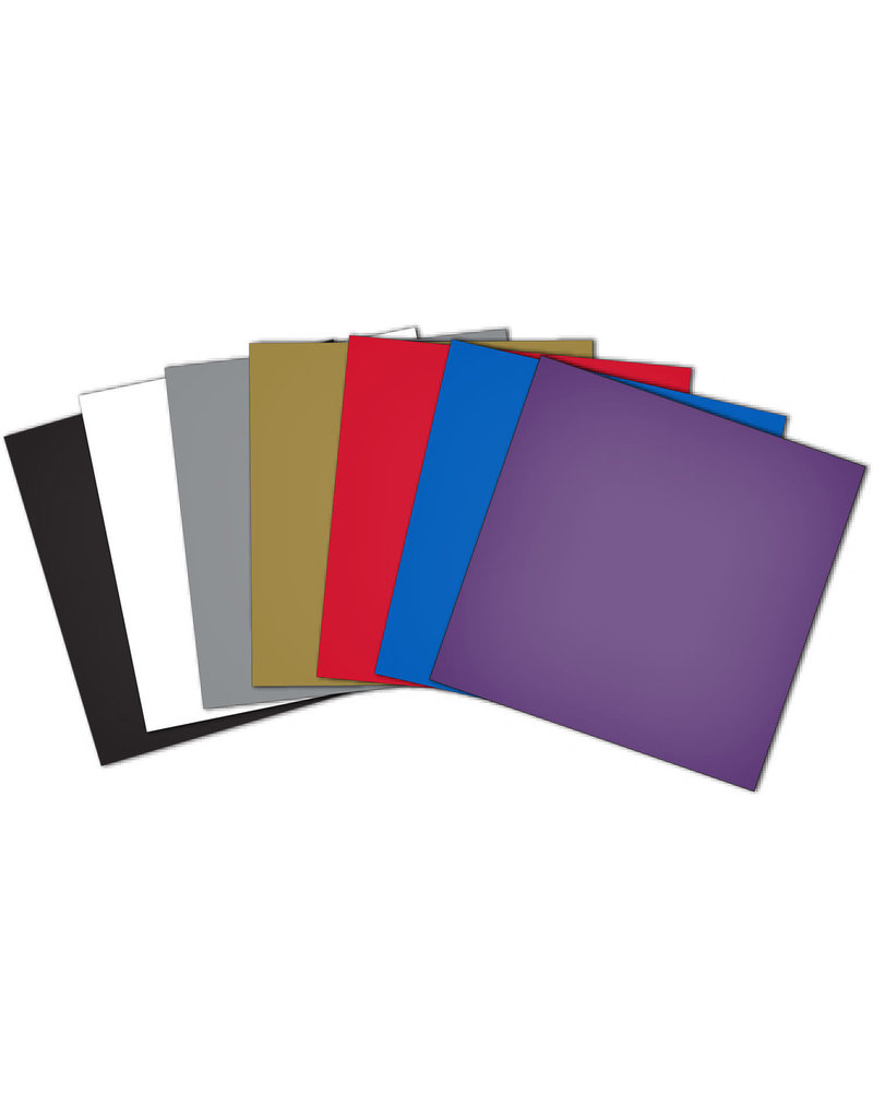 Brother Brother ScaNcut assortiment de vinyles de couleur (ens. de 10)