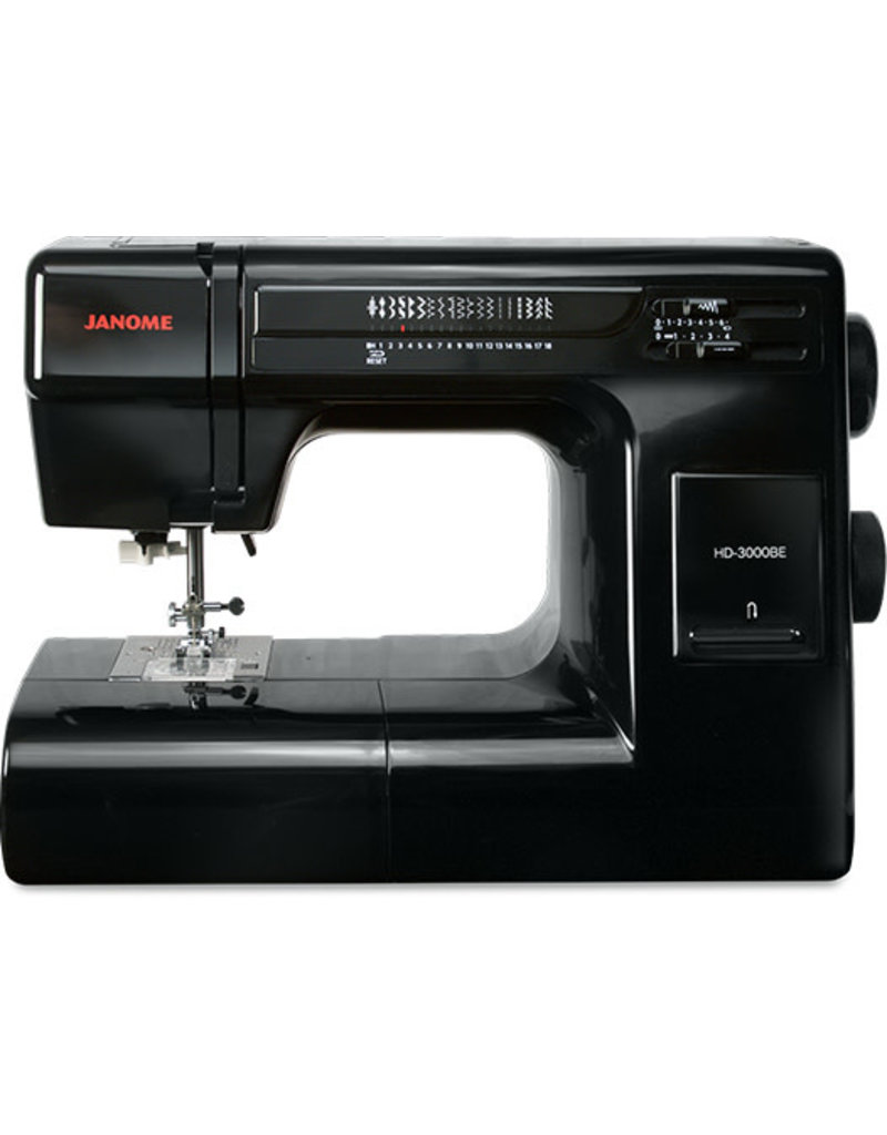 Janome Janome sewing only HD3000 Black édition