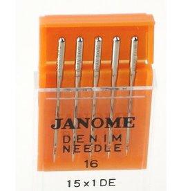 Janome Aiguilles Janome denim/Jeans 100/16