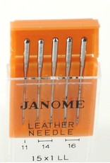 Janome Aiguilles Janome cuir/leather assorties