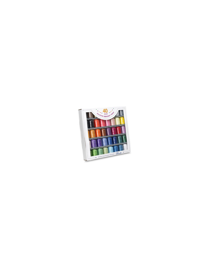 Brother Brother 40-Colour Embroidery Thread Set