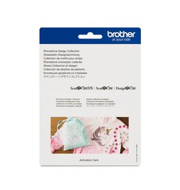 Brother Brother Rhinestone Design Collection for ScanNCut DX Machines