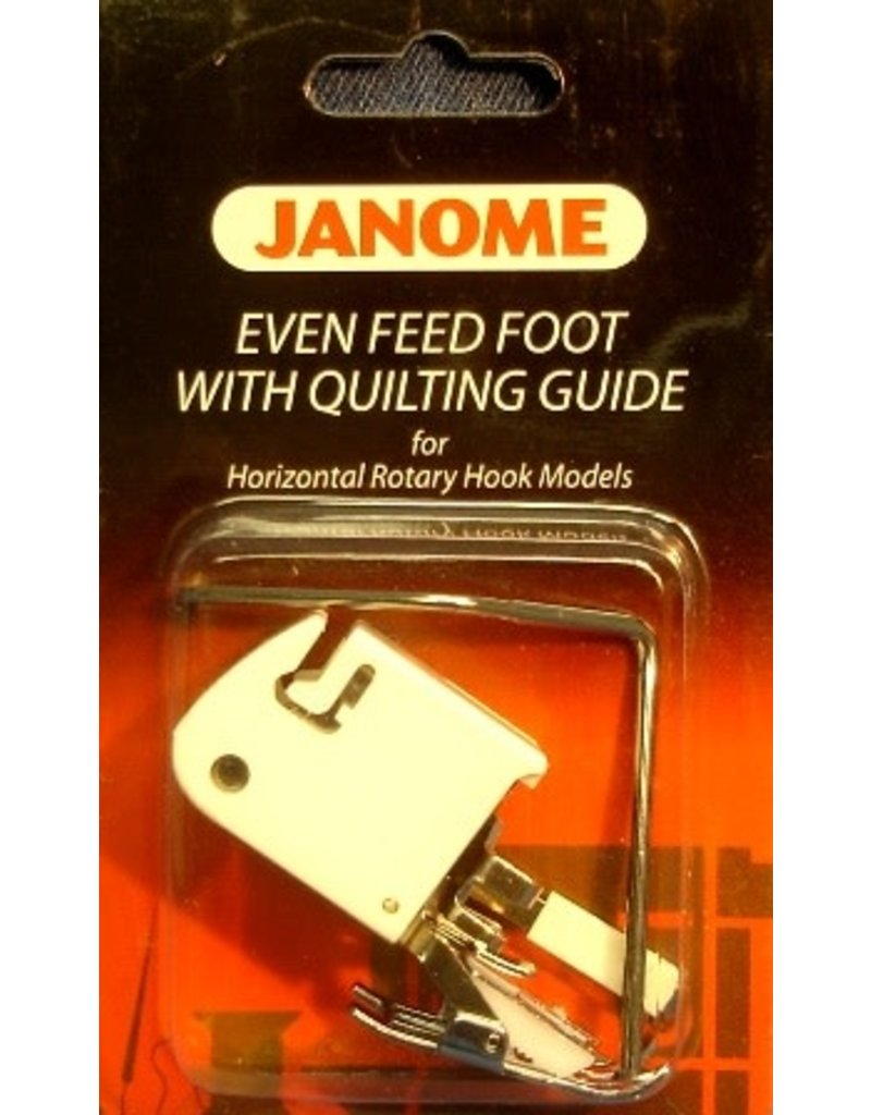 Janome Walking foot/Even feed foot Janome 5 & 7Mm