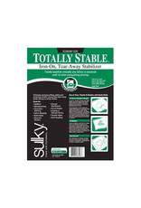 """Sulky Sulky Totally Stable - 20"""" x 3 yd pkg, white"""