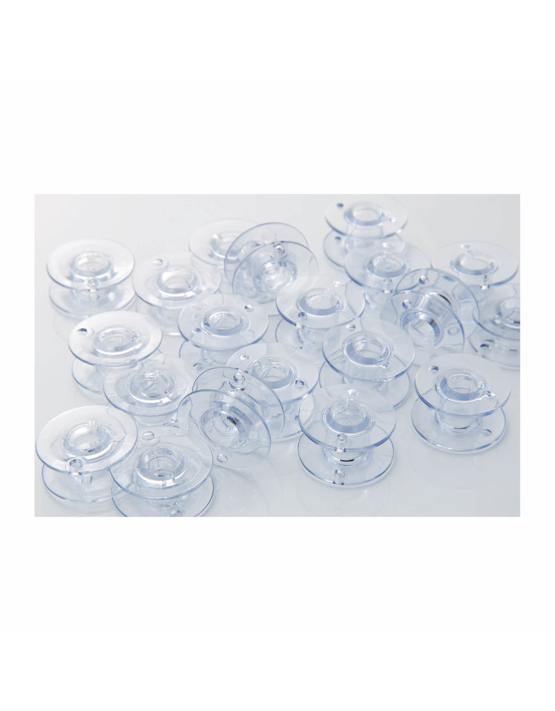 Babylock High Quality Clear Plastic Bobbins 7/16 inch deep
