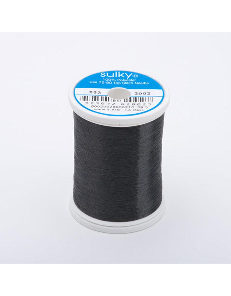 Sulky invisible black thread 2000m