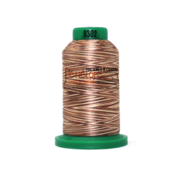 Isacord Fil Isacord multi-couleur 9302 1000 m pour broderie et couture