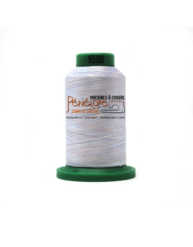 Isacord Isacord multicolor thread 9506 1000 m for embroidery and sewing