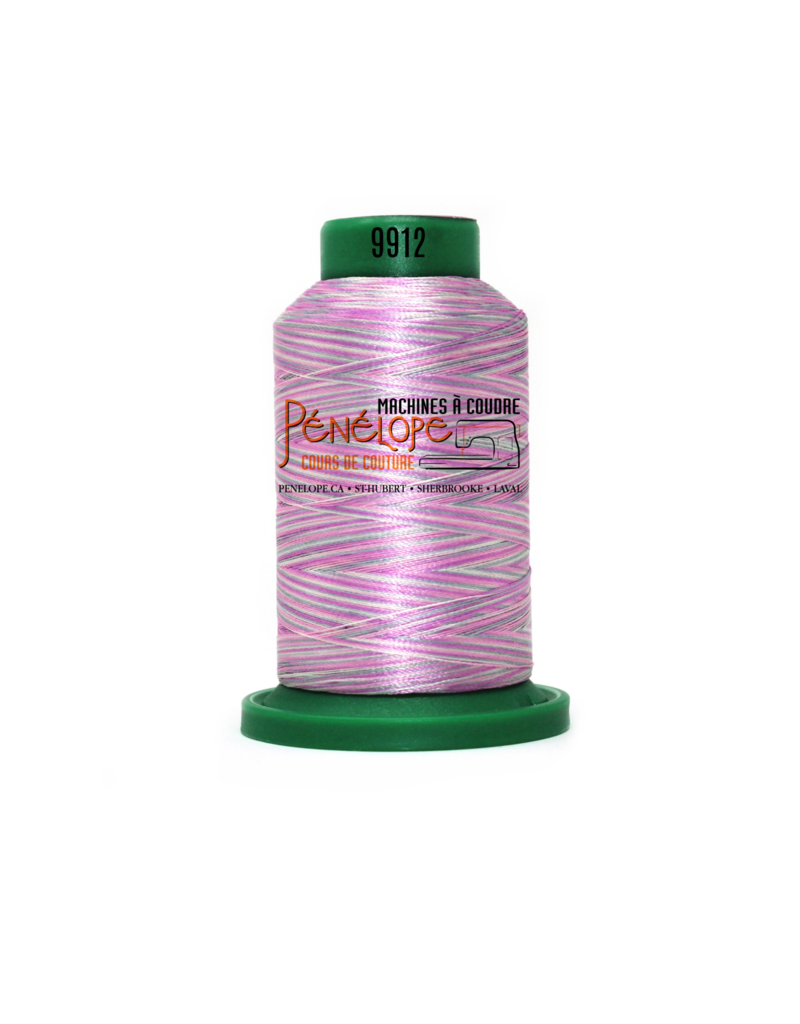 Isacord Isacord multicolor thread 9912 1000 m for embroidery and sewing