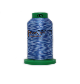 Isacord Fil Isacord multi-couleur 9929 1000 m pour broderie et couture
