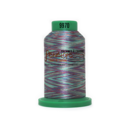 Isacord Fil Isacord multi-couleur 9970 1000 m pour broderie et couture
