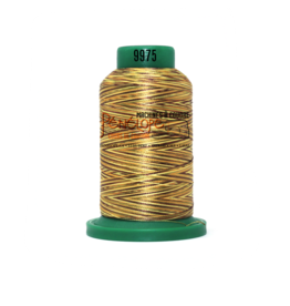 Isacord Fil Isacord multi-couleur 9975 1000 m pour broderie et couture