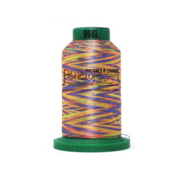 Isacord Isacord multicolor thread 9981 1000 m for embroidery and sewing