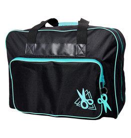sew easy Sac de transport noir et turquoise