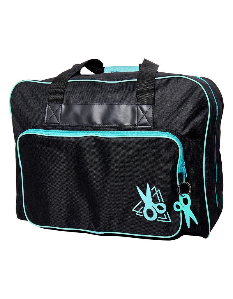 sew easy Black and Teal tote bag