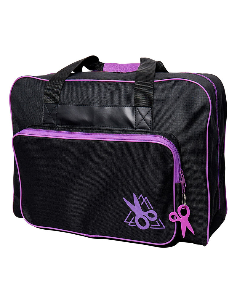 sew easy Sac de transport noir et rose