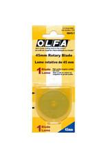 olfa Circular rotary replacement blade 45 Mm Olfa (1X)