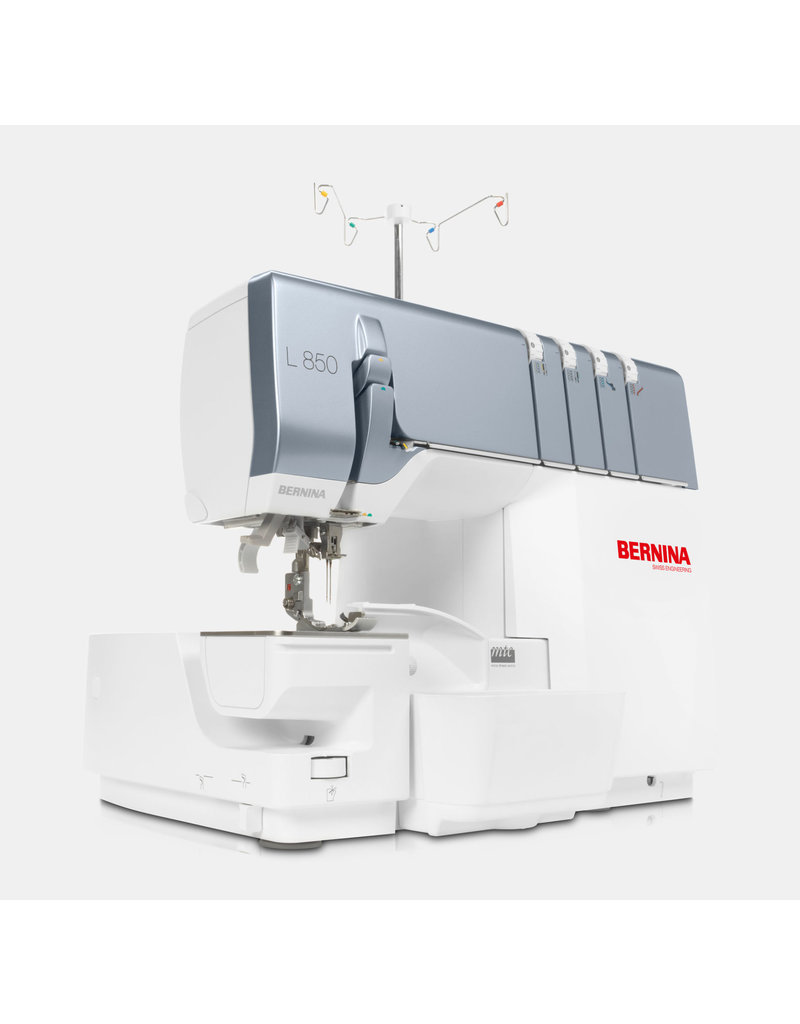Bernina Bernina serger combined with coverstitch L850