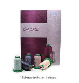 Isacord Charte de fils Isacord avec échantillons