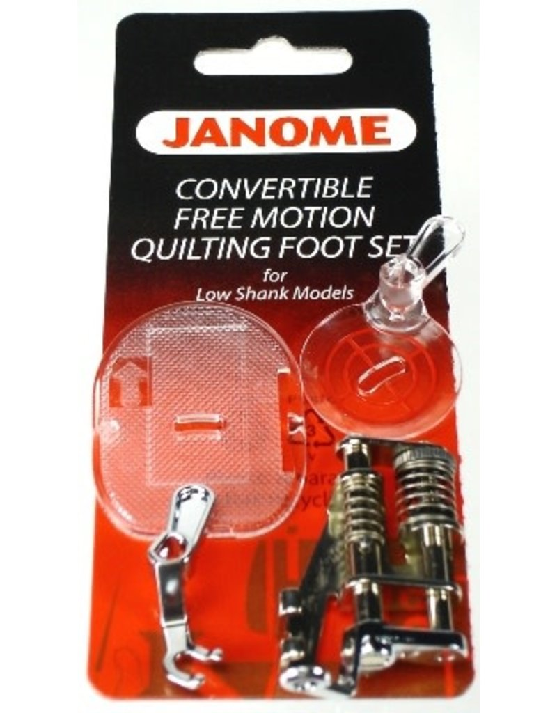 Janome Free Motion Quilting Low Shank Janome