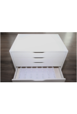 Tray for 54 Isacord threads ( cabinet and threads not included )