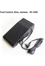Elna Foot control Elna Janome Kenmore