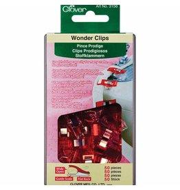 Clover Wonder Clips Pqt 50