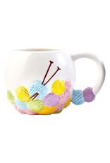 Sew Tasty Knitting Yarn Ball Mug