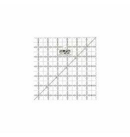 "Olfa OLFA QR-6S - 61/2"" Square Frosted Acrylic Ruler"